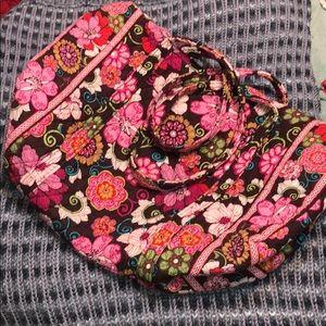Vera Bradley large floral duffel bag